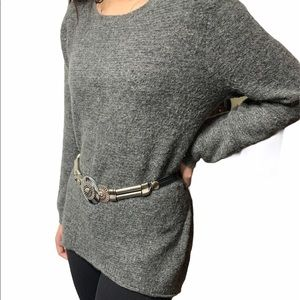 Only Our Story High Low loose Sweater